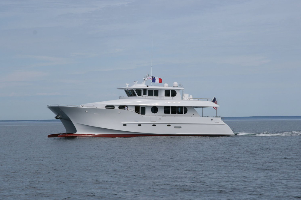 85' Catamaran (Bill Preston lead Architect)
