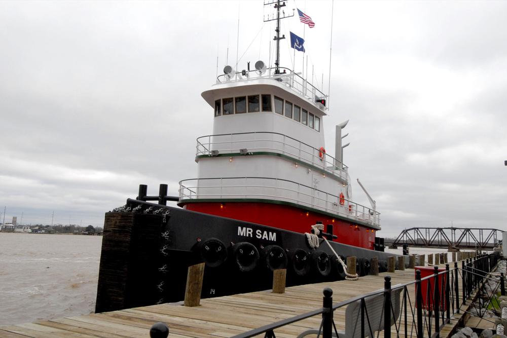 120' Ocean Tug