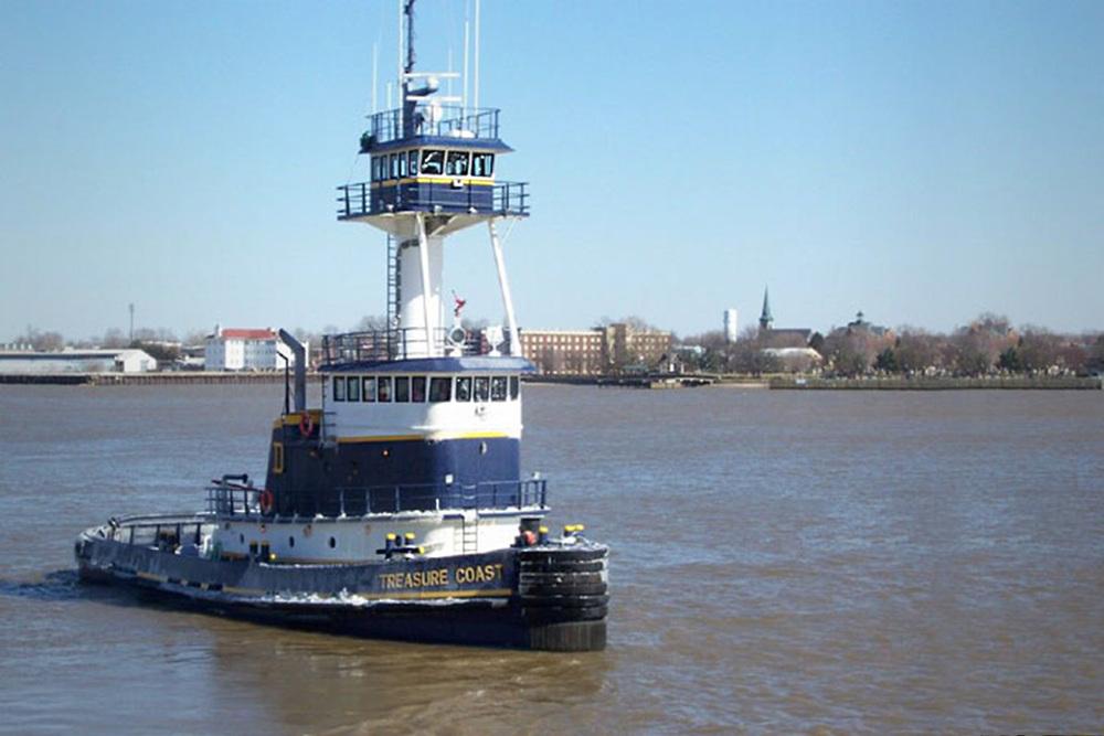104' Ocean Tug