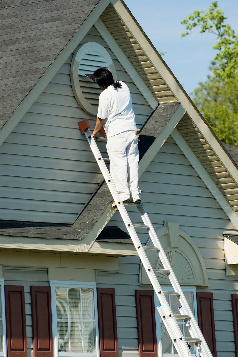 Painting your home will make it look as new and the investment lasts for years.