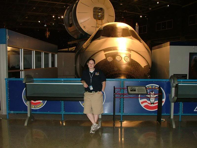 Full Circle as a Space Camp & Aviation Challenge Counselor - Summer 2007