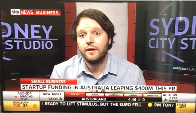 Peter Regularly Speaks on Sky News