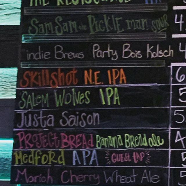 We still on the board (along with the @partyboisband kolsch!) but supplies are getting low! Hit up @dtrbrewery to taste that sweet @indie617 brew. #salemwolves #indiebrews #craftbeer #beer #localbrew #bostonbrewery