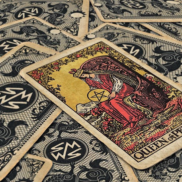 Everything you do is obscene. ... ... ... ... ... ... #queen #newmusic #tarot #queenofpentacles #salemwolves #boston #bostonmusic #witch #cards #comingsoon