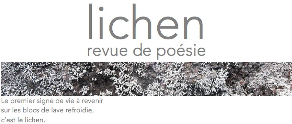 Revue Lichen n°26
