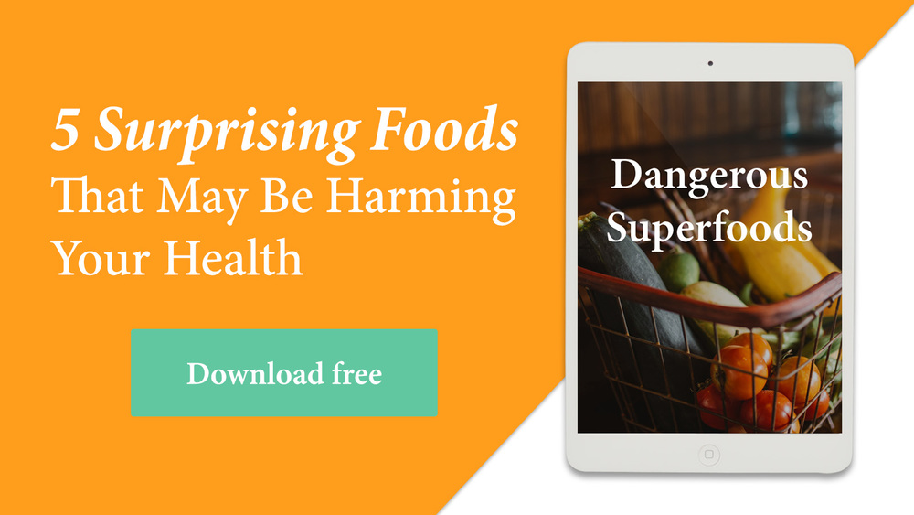 Superfoods: healthy or dangerous? Get this free ebook to see what 5 superfoods may be harming your health. A must read for those following AIP, GAPS Diet, Specific Carbohydrate Diet, Paleo, Primal, or any healthy lifestyle! @realfooddiets