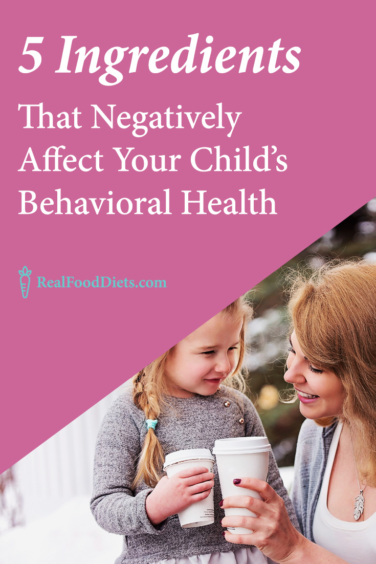 Naturally heal your child's behavioral disorder by removing these foods from your children's diet. Your child's behavioral health depends on your initiative to learn more about nutrition for kids. @realfooddiets