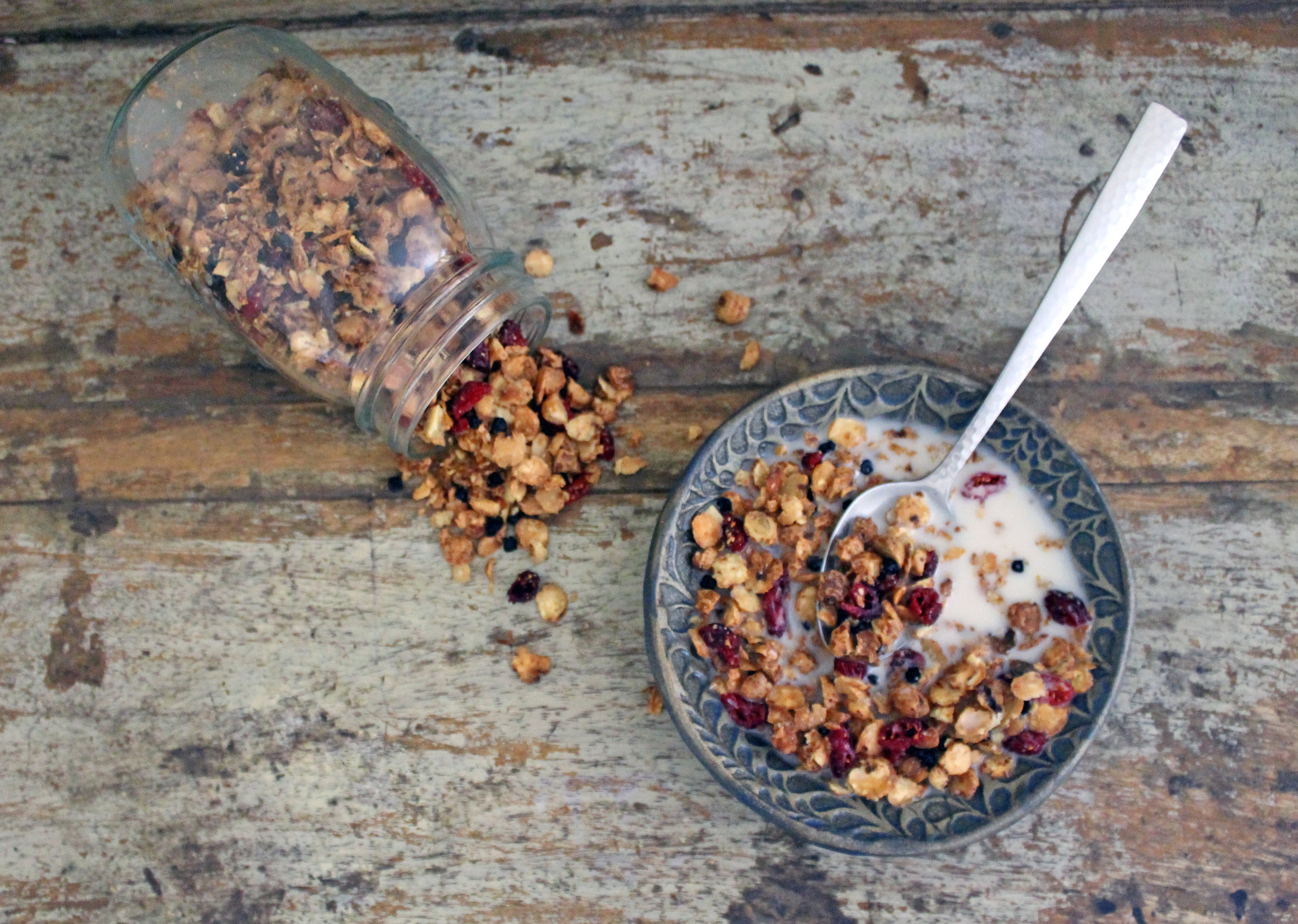 Cranberry Tiger Nut Granola