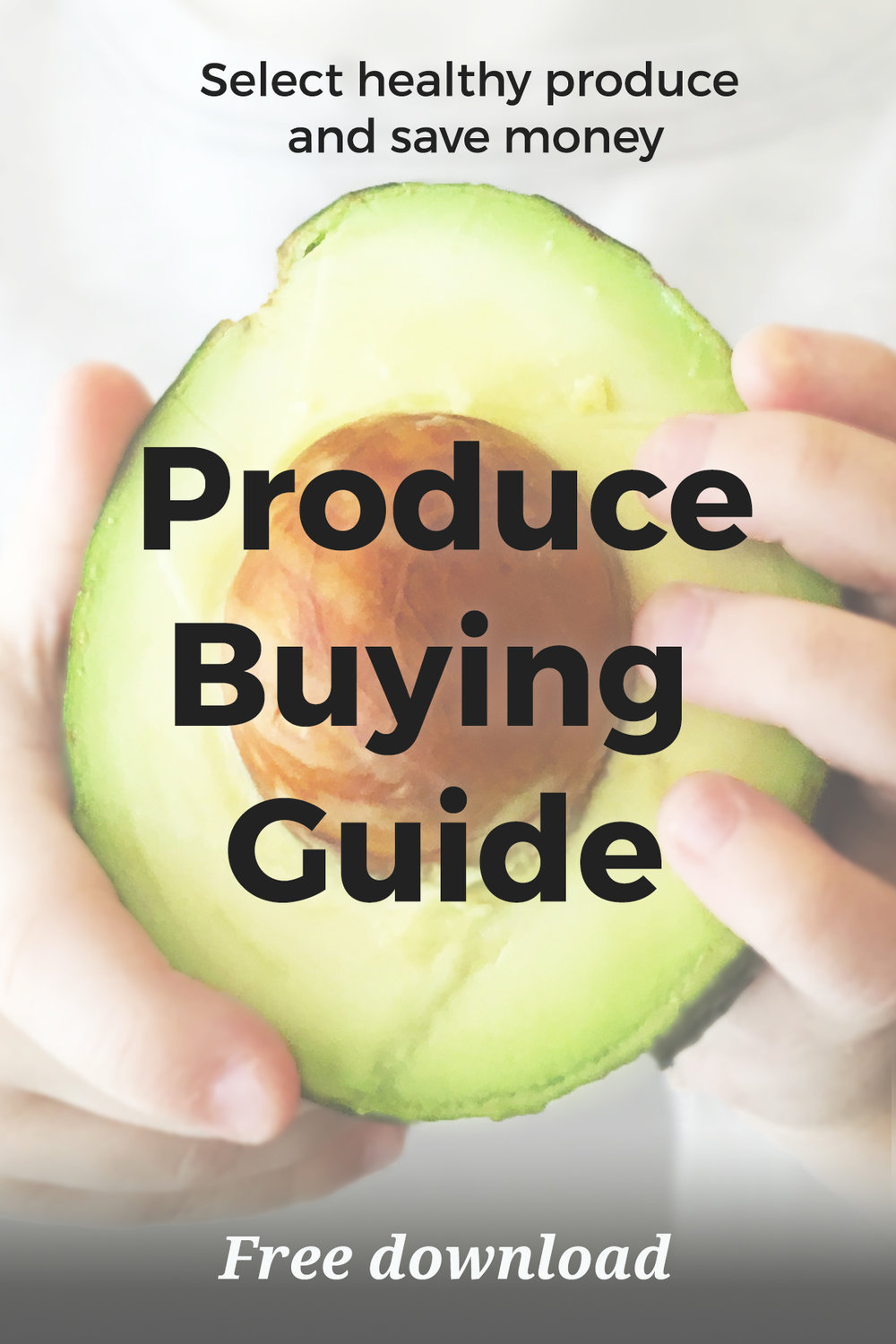 The Real Food Diet's Produce Buying Guide was made to help you carefully select safe produce at the grocery store. Now you can avoid pesticide danger with this free printable. For an easy shopping list on the go, simply download a copy to your phone. Such helpful information about pesticides at the link too!