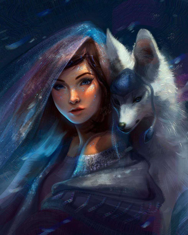 Glaceon Snow Queen (Fanart)