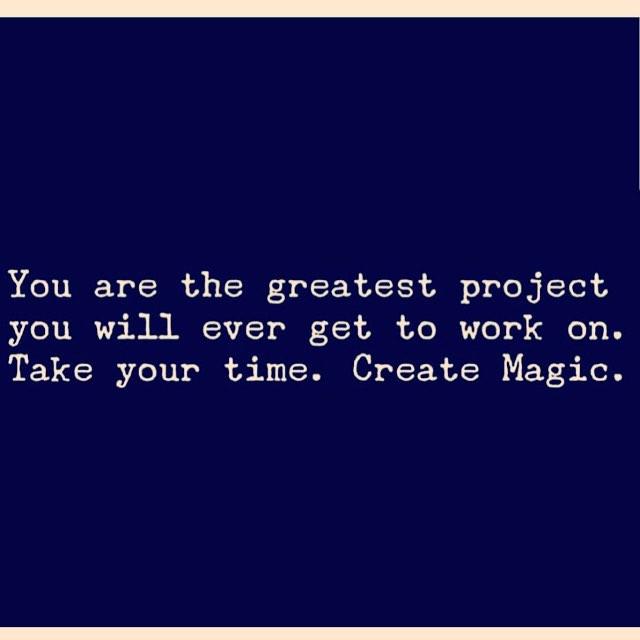 #Truth ✨✨✨... #createmagic #createyou #takeyourtime #miracleshappen #loveisallaroundus #loveisall #loveisthemessage