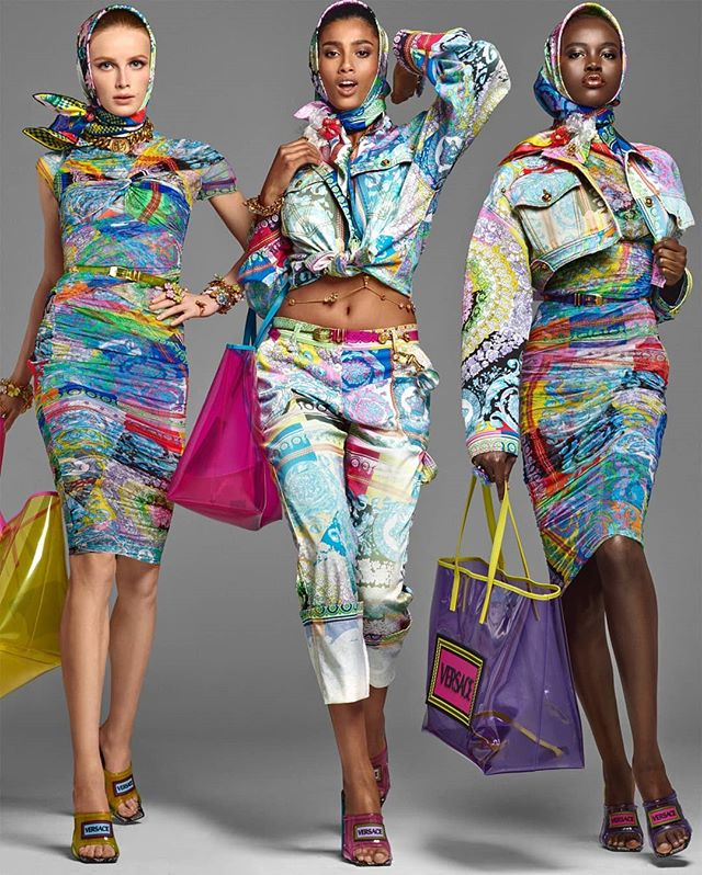 Imaan Hammam and Adut Akech for Versace Spring summer 2019. . . . . . . . . . . . . . . . . . #panafrique #panafrican #artist #art #blackisbeautiful #femmenoire #morocco #egypt #southsudan #afropolitan #afro #melaninpoppin #melanin #vogue #orgulhonegro #fashion #buyblack #blackmodel #RepresentationMatters #femmenoire #belezanegra #crespa #cacheadas #blackcreatives #afrolatina #sernegroeshermoso #melanine #melanina #fashion #blackcreatives #blackmodel