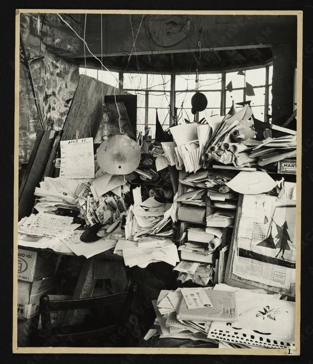 Calder's Studio - Courtesy of Pinterest