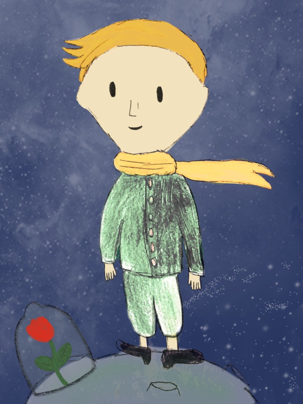 The Little Prince - Illustrated by Emma Meijer