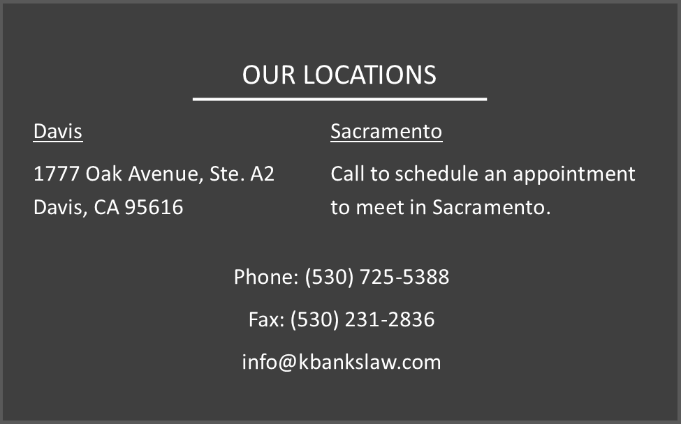 Law offices of Keith Banks locations