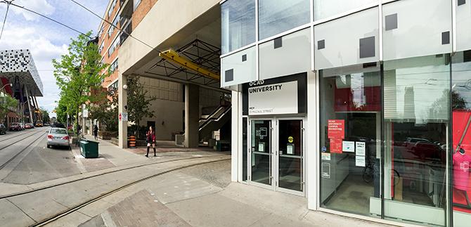 OCAD University Student Centre Exterior / After