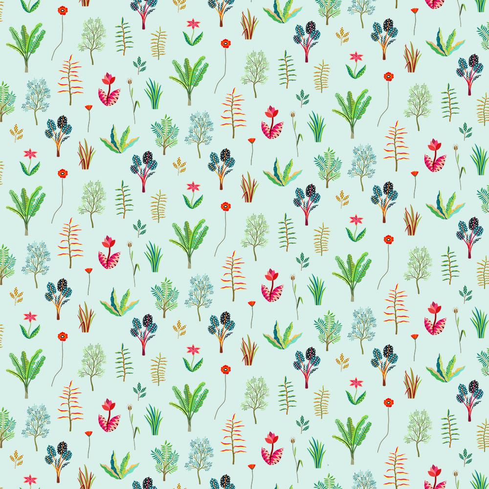 Textile design for Heals.