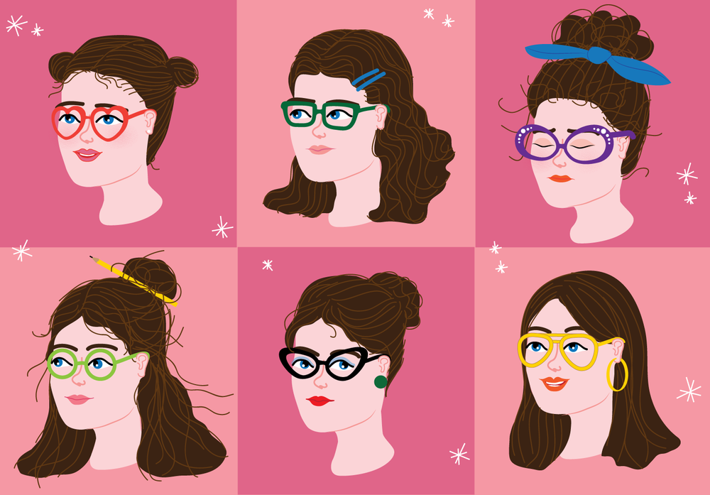 I Won't Apologise for Hating: The Glasses Shopping Edition. Illustration by Alice Oehr.