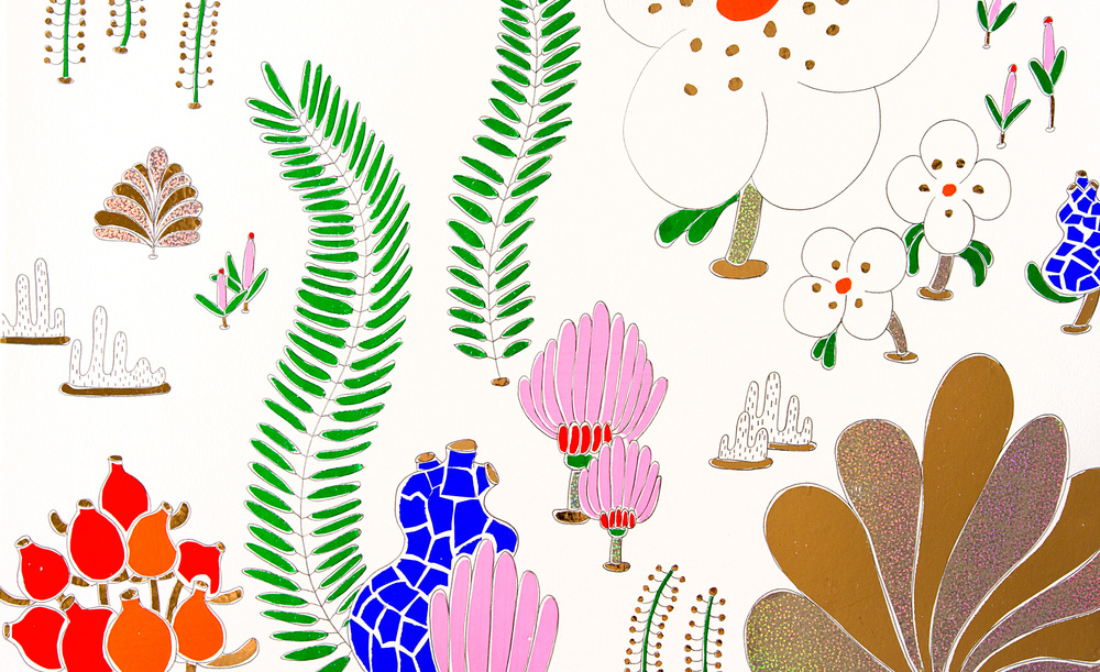 Natural Remedies and the Girl who said Yes. Illustration by Evi O.