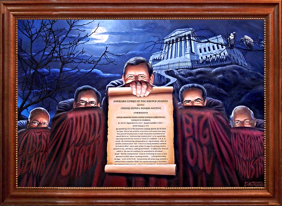 """ Court Blanche – Citizens United """