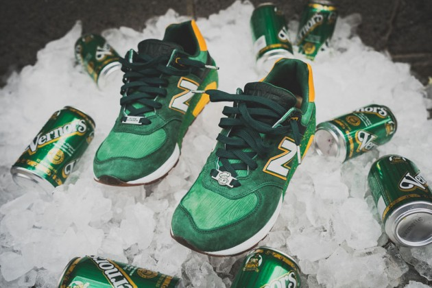 "Burn Rubber X New Balance 572 ""Vernors"""