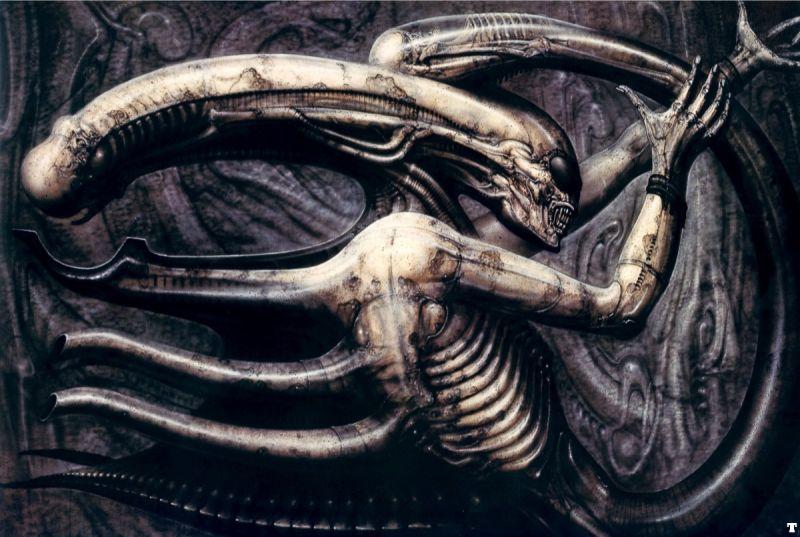H.R Giger  :    Necronom IV