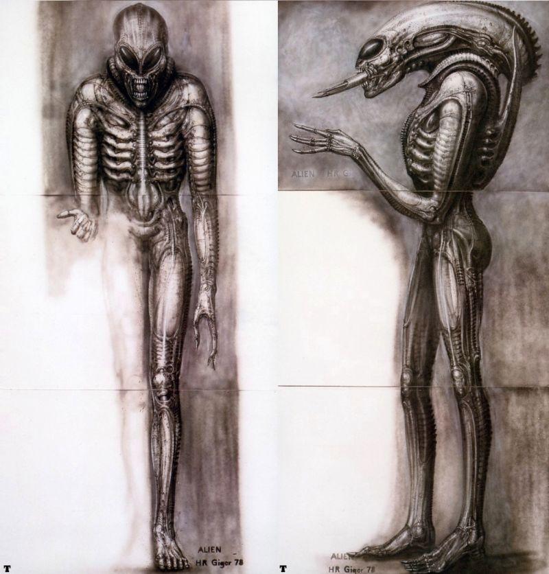 H.R Giger  :    Aliens