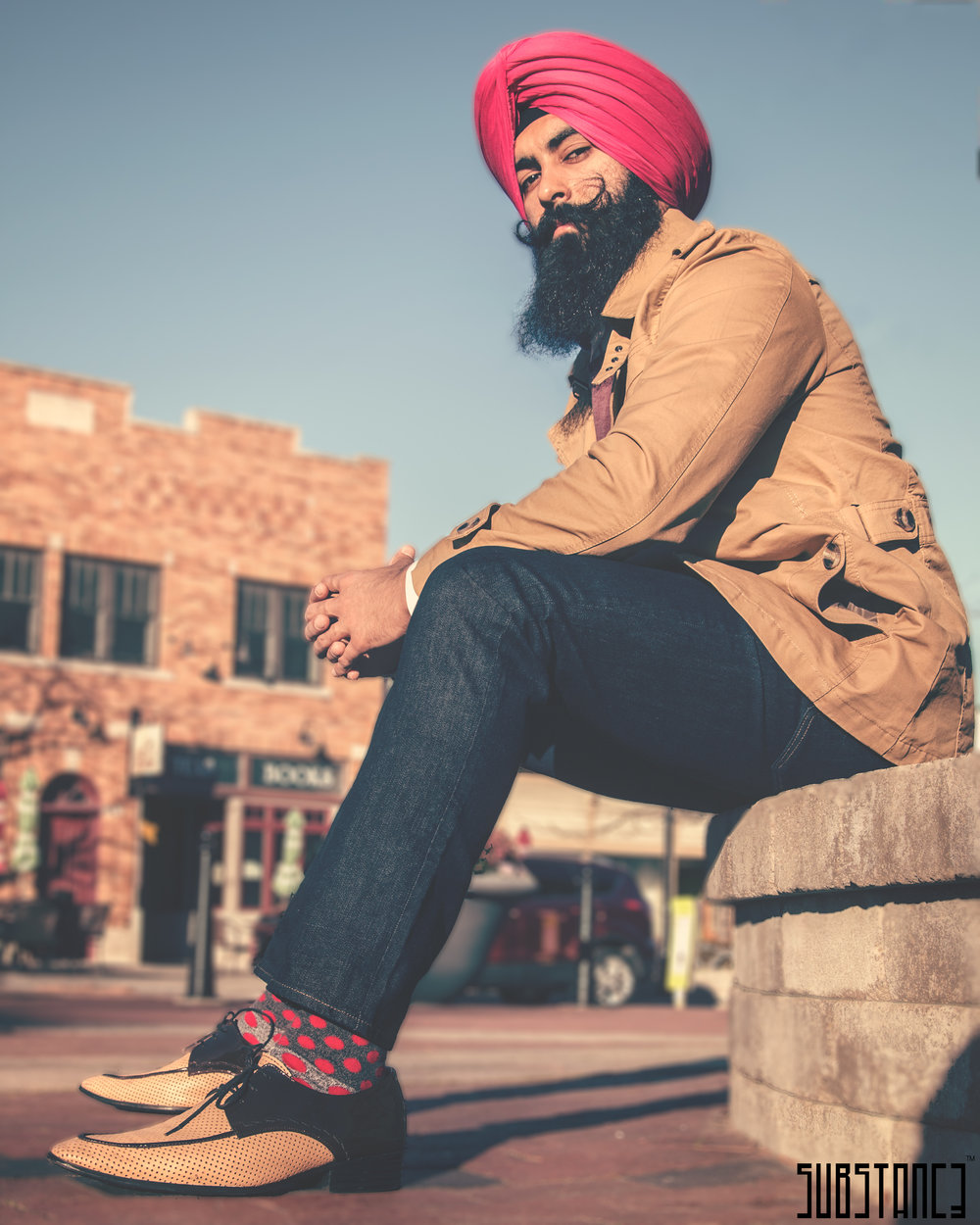 "Credit: Substanc3 Media  "" Don't be the majority. And as always, keep hustling ."" - Jaspreet Singh"