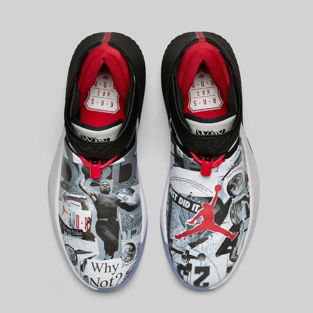 The Why Not Zer0.1 Marks Russell Westbrook s First Signature Shoe ... 1942155af