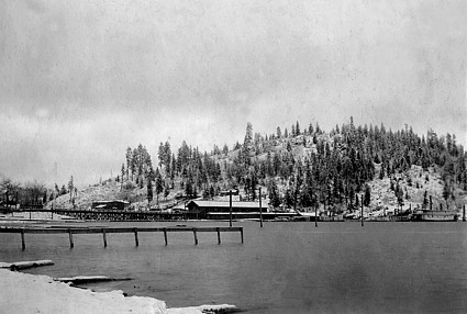 Photo Courtesy North Idaho Museum, circa 1890
