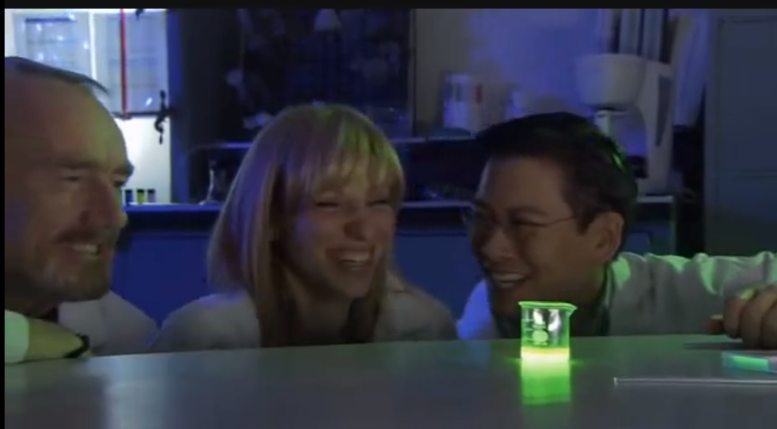 "Also, the stirring Debbie Gibson ""SCIENCE!"" scene from Mega Shark Vs. Two Hours of My Life I'll Never Get Back."