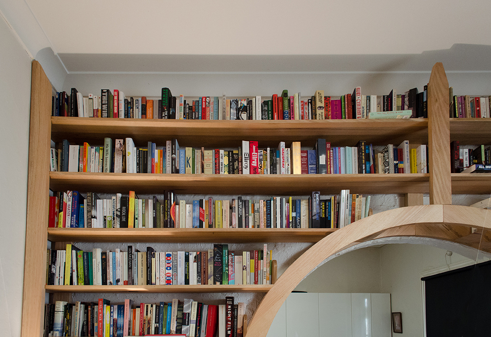 Arch Bookshelf Chris Wann Woodwork
