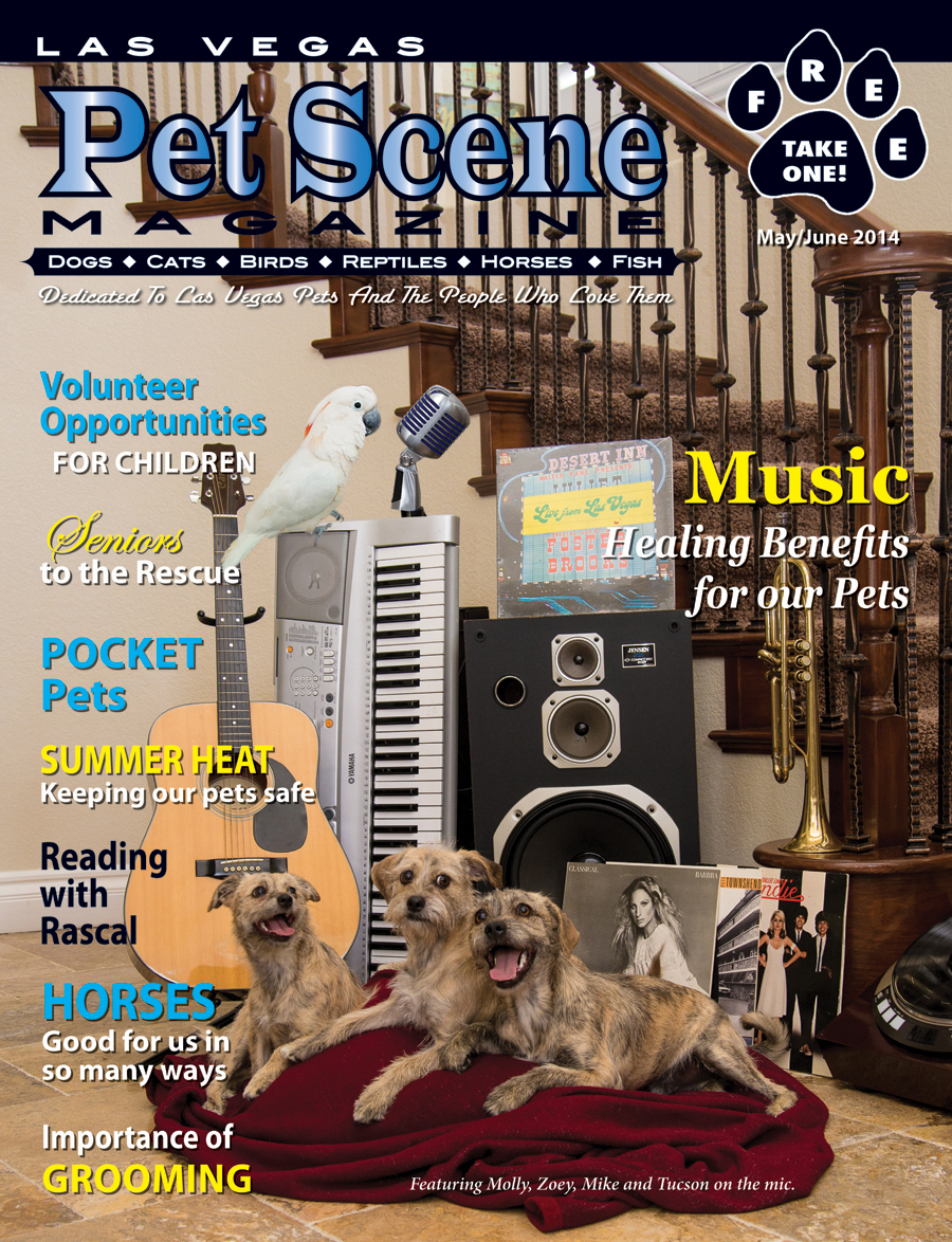 Las Vegas Pet Scene Cover- May/June 2014