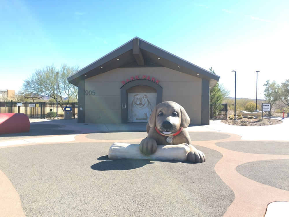 Bark Park and Barkules Puppy Mascot