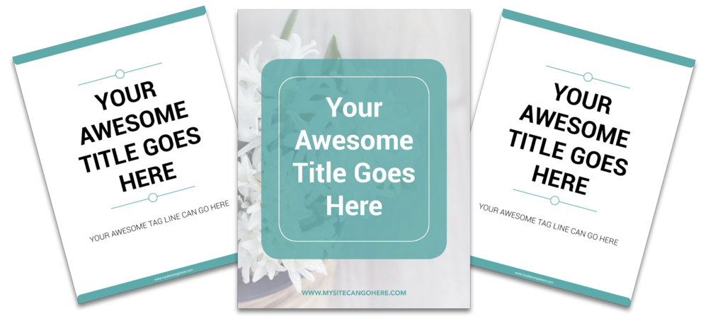 Cover + 2 Page Mockup -