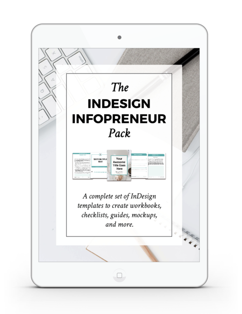 InDesign for InfoPreneurs Thank You Page — viaYuri | Start Your Side ...