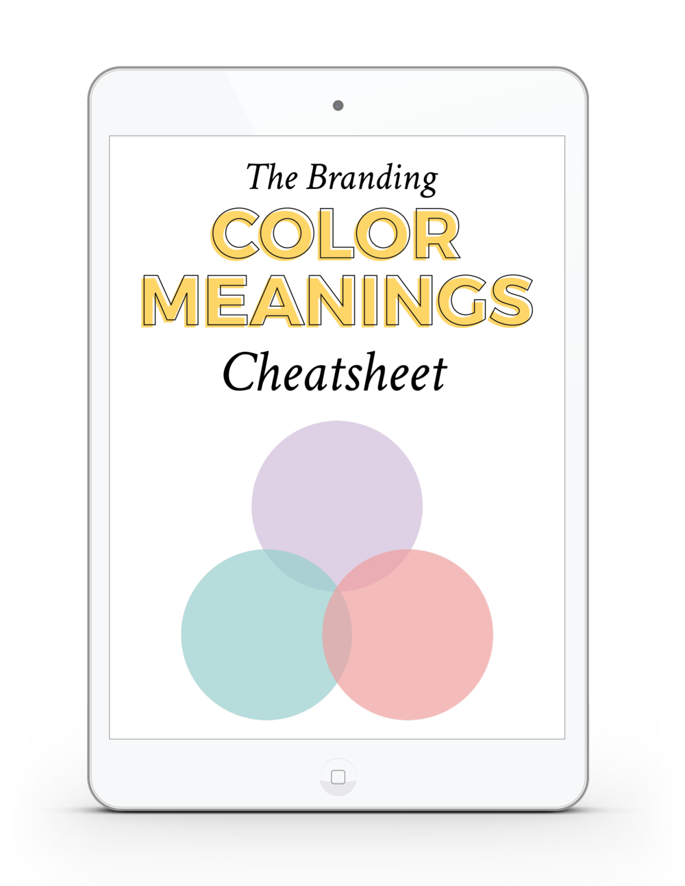The Branding for Business Color Meanings Cheatsheet | viaYuri.com