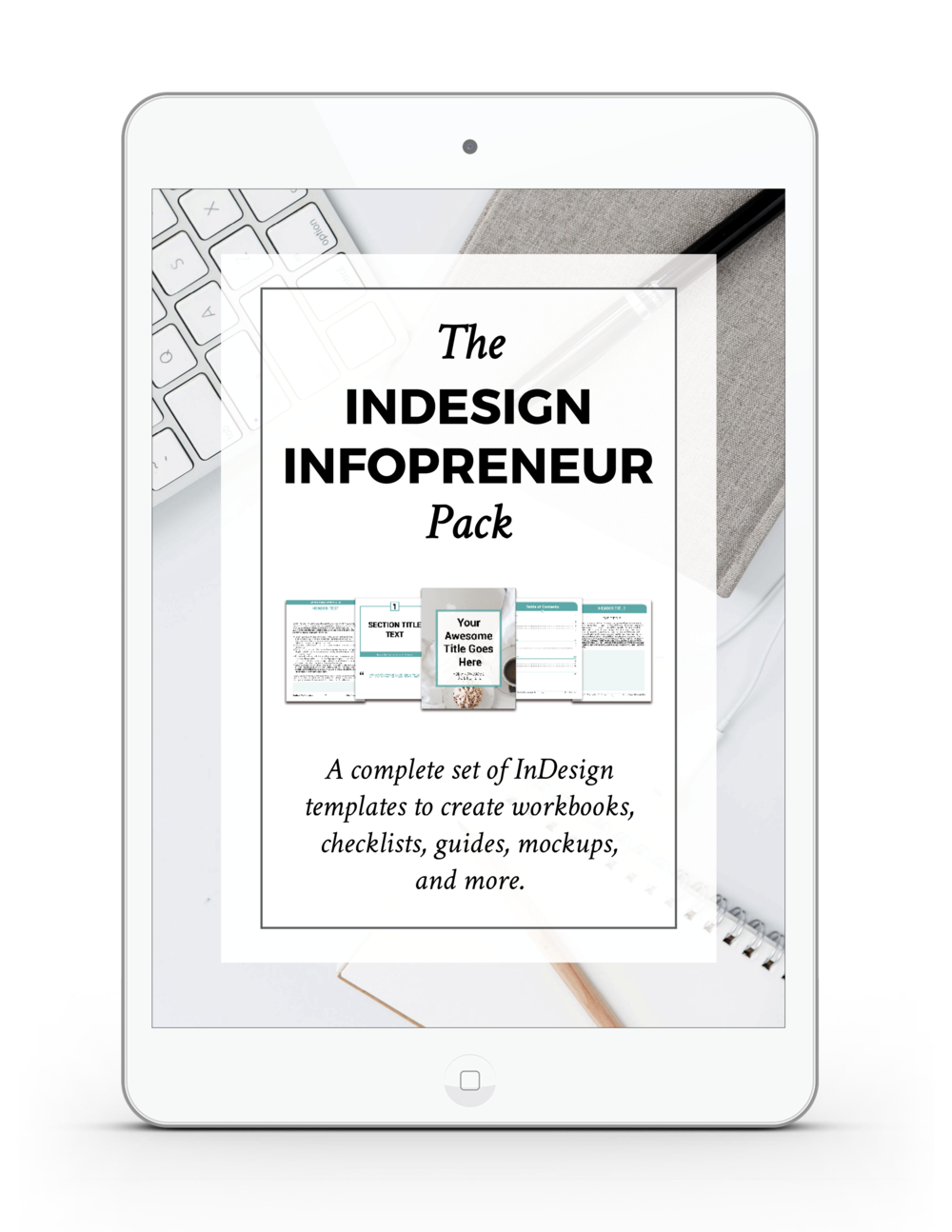 The InDesign InfoPreneur Product Pack