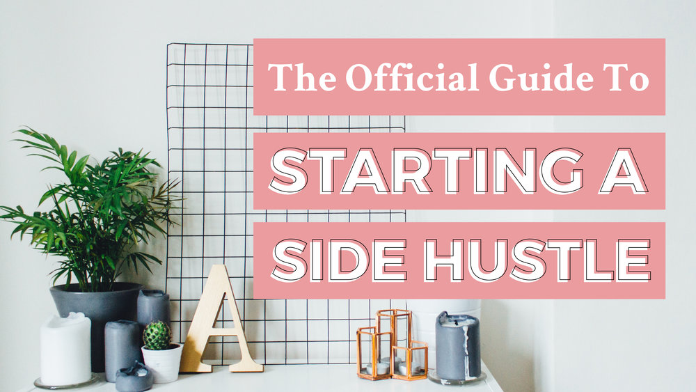The Official Guide to Starting a Side Hustle, Side Business, or Side Gig of Your Own | Yuri Gibson of viaYuri.com
