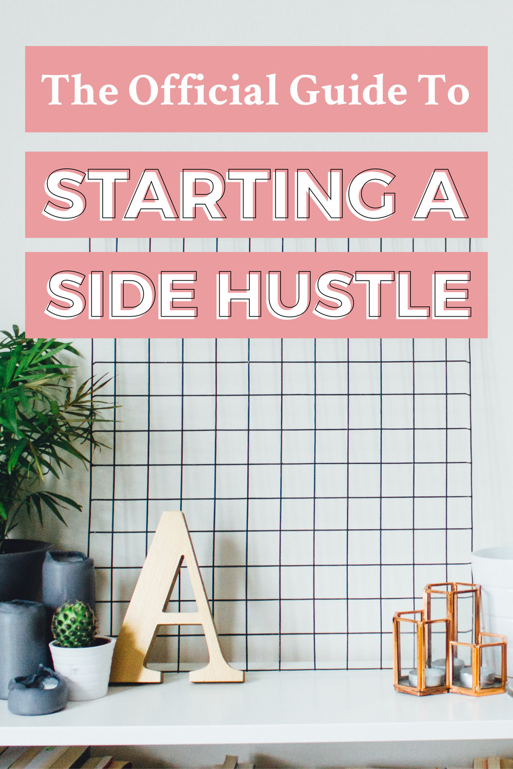 Things I've Created Using Adobe InDesign: The Official Guide to Starting a Side Hustle Website Banner