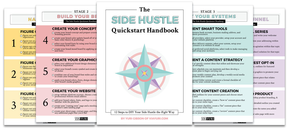 The Side Hustle Quickstart Roadmap -
