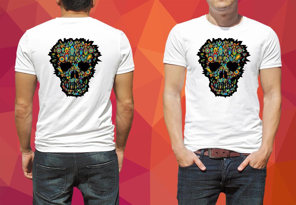 Edgy Skull Design