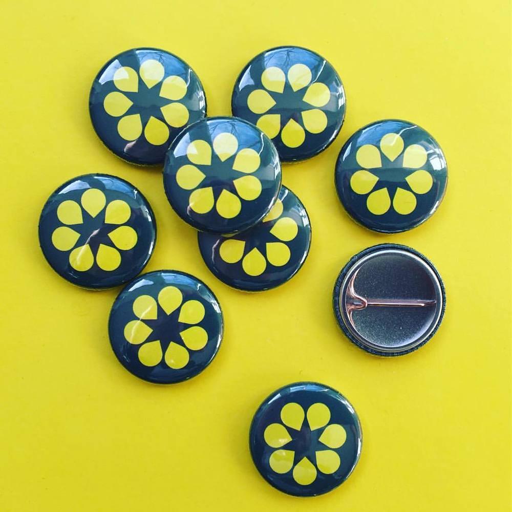 Blossom badges