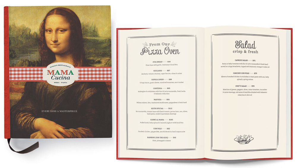 Mama Cucina Menu Design - Design 4 Business