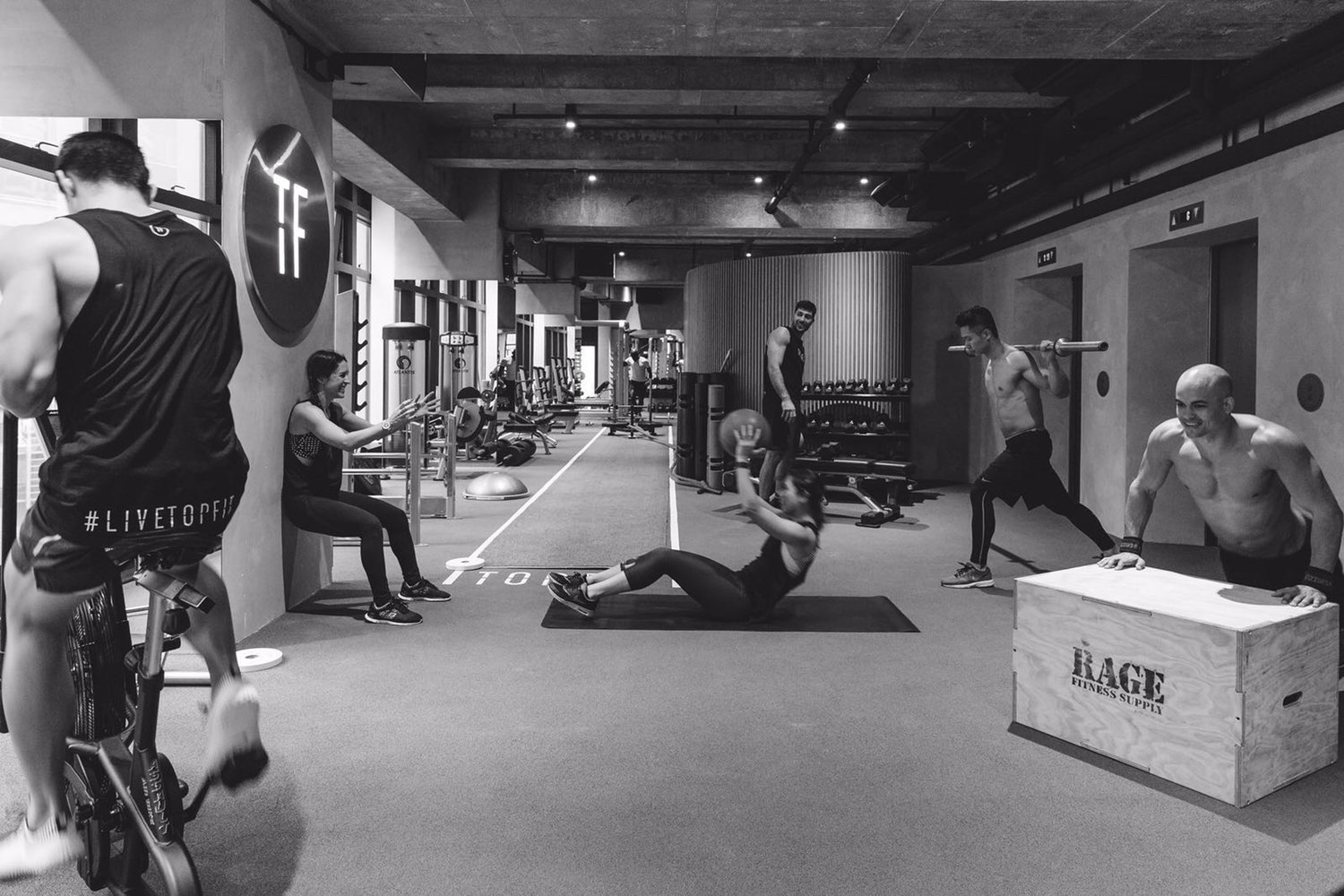 Topfit At Circuit Works We Offer The Personalized Training Experience In A Tf Gymjpeg