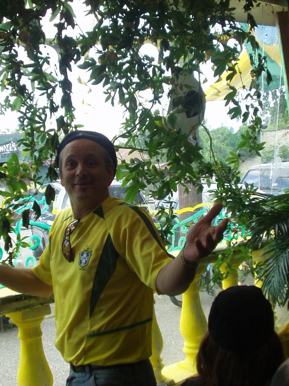 Tempero Do Brasil's co-owner, Bryant Urban