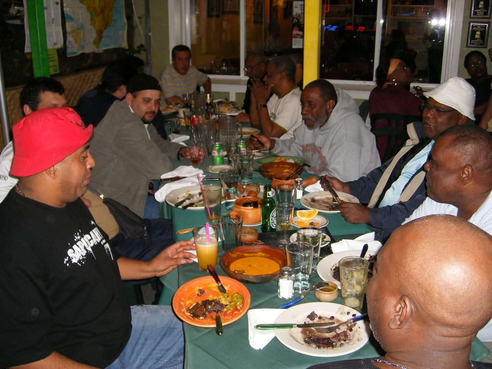 Fundo de Quintal feasting at Tempero Do Brasil