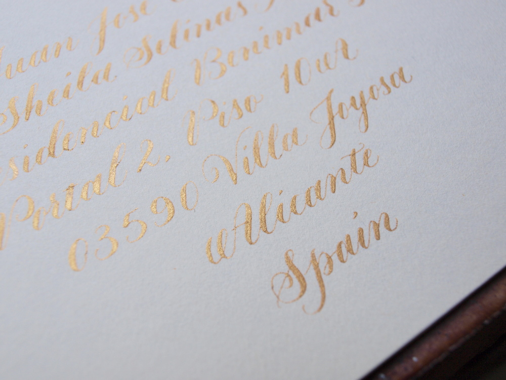 Gold copperplate envelope 1 -Sam Tate.JPG