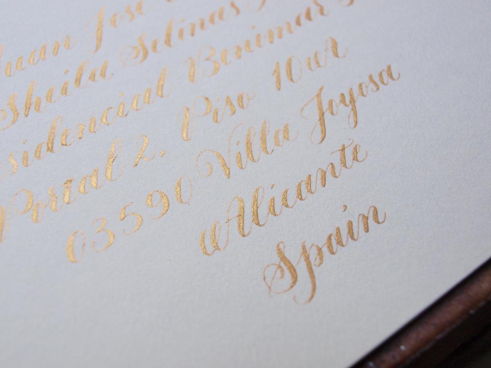 Gold copperplate envelope 1 -Sam Tate.JPG