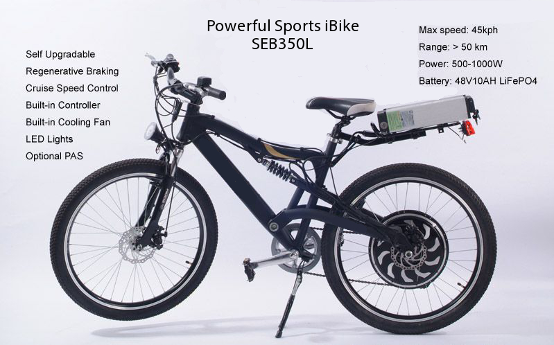 Rental Bike Koh Samui Evolution Sports Mountain Electric Bicycle